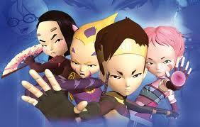 Código Lyoko: Yumi, Odd, Ulrich y Aelita (por este orden)