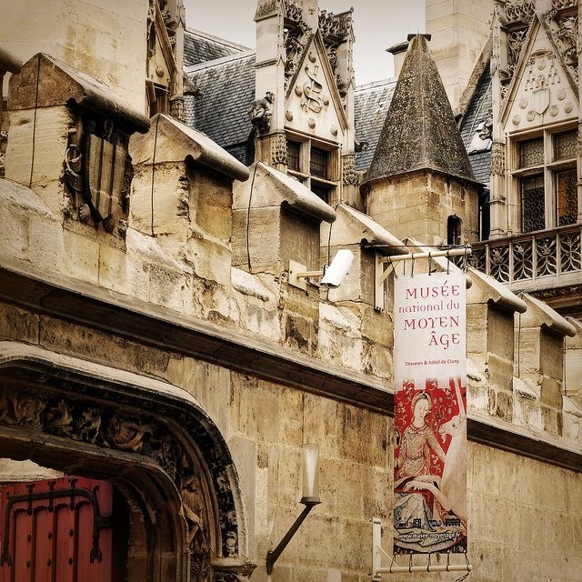 """Musée de Cluny - an art museum I actually liked in Paris! Houses """"the Lady and Her Unicorn"""" tapestry"""