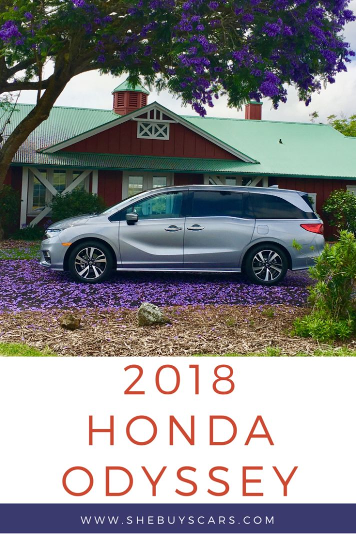 The 2018 Honda Odyssey Minivan is an excellent family car, especially when on a road trip or car pooling!