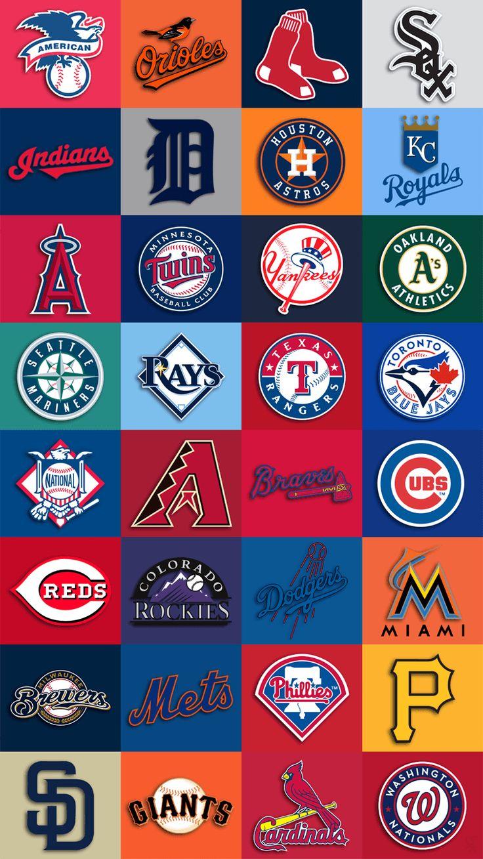 750x1334 Mlb Team Logos Iphone 6 Wallpaper 750x1334 Mlb Wallpaper Baseball Wallpaper Mlb Team Logos