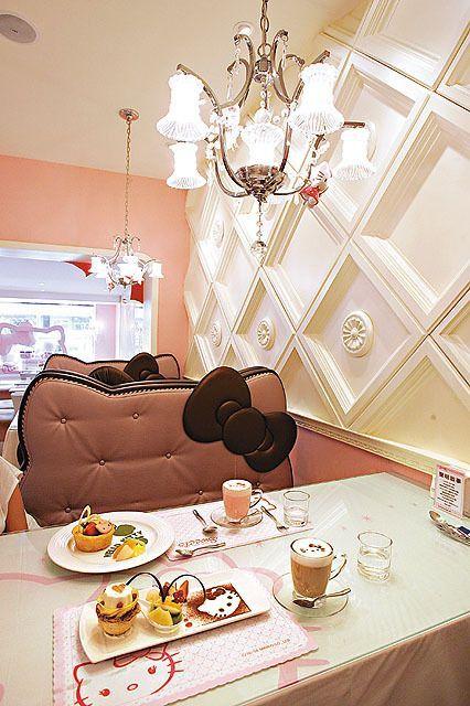 Hello Kitty restaurant (in Taiwan)