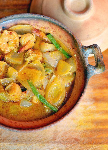 Кхмерское карри с креветками - Кухня народов мира
