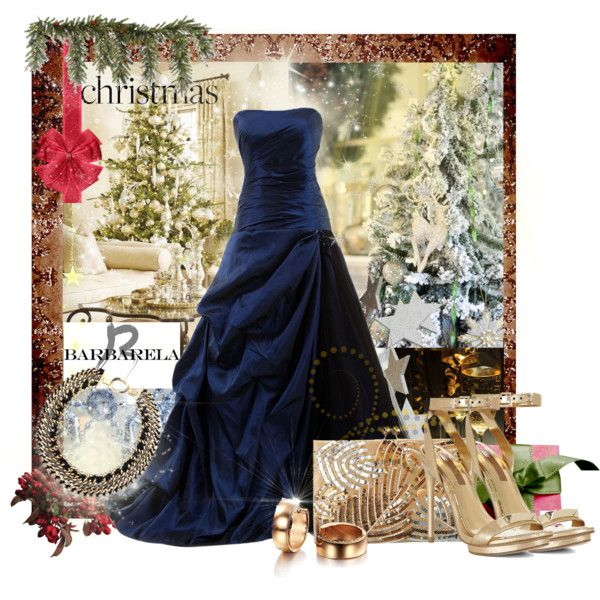 """Christmas with Barbarela Jewelry."" by nataly212 on Polyvore"