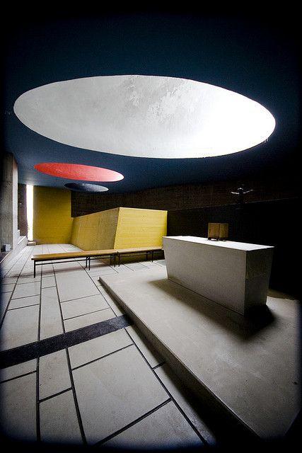 Le Corbusier, Sainte-Marie de La Tourette, 1953 by pieter.morlion: Le Corbusier, Building Art, Interiors Design, Modern Architecture, Building Architecture, La Tourette, Architecture Building, Architecture Spaces, Saintemari De