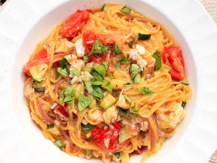 Voici une recette de Linguine à la chair de crabe... - Recettes - Recettes simples et géniales! - Ma Fourchette - Délicieuses recettes de cuisine, astuces culinaires et plus encore!