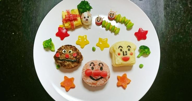 1歳お誕生日プレート アンパンマン by ak33892 [クックパッド] 簡単おいしいみんなのレシピが251万品