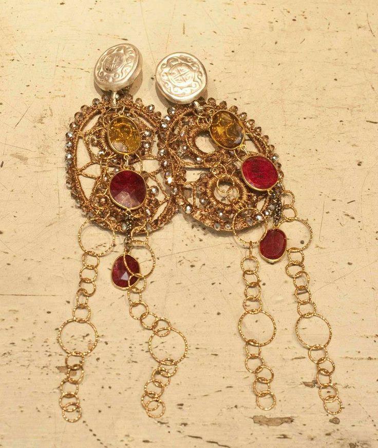 #orecchini #gioielli #madeinitaly #italia #gold #jewlery  #giuseppinafermi