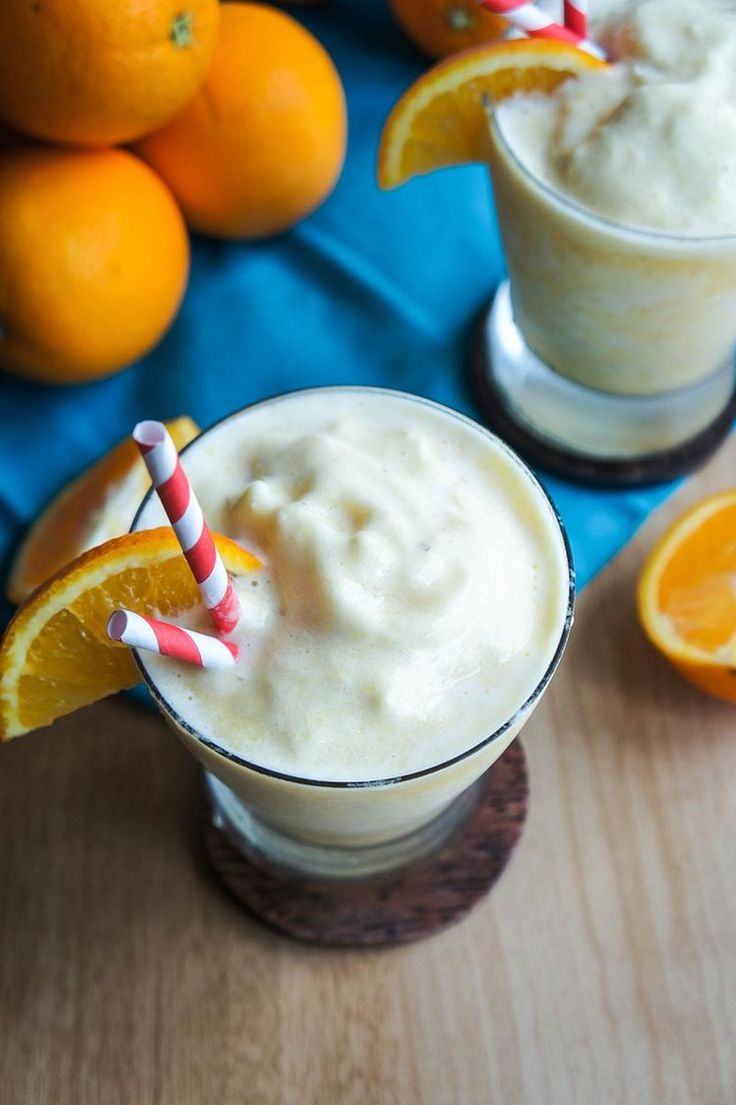 2. Whole Orange Smoothie http://greatist.com/fitness/50-awesome-pre-and-post-workout-snacks