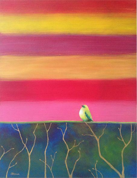 Recent paintings - alma castilla