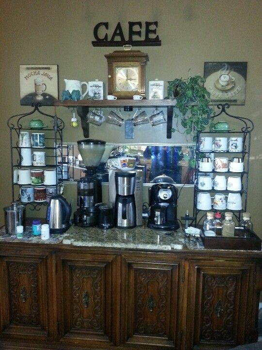 1000 images about diy coffee bar ideas on pinterest little cup kitchen coffee bars and. Black Bedroom Furniture Sets. Home Design Ideas