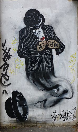 Streetart by Nick Walker. Paris, France. #nickwalker http://www.widewalls.ch/artist/nick-walker/