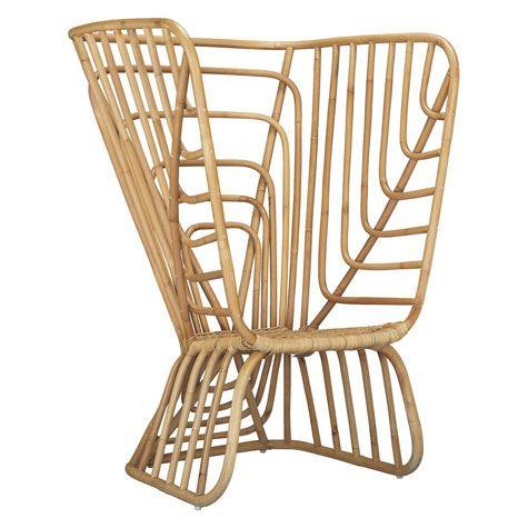 Avia Rattan Chair