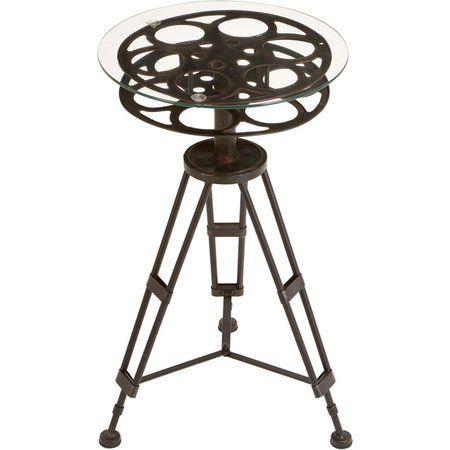 Cool Film Reel Accent Table Designer Ideas