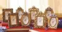 ornate frames gold