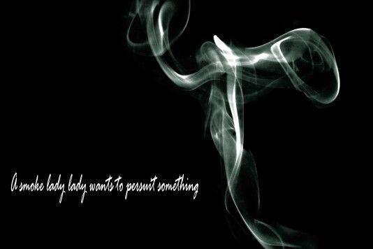 An example of smoke photography...