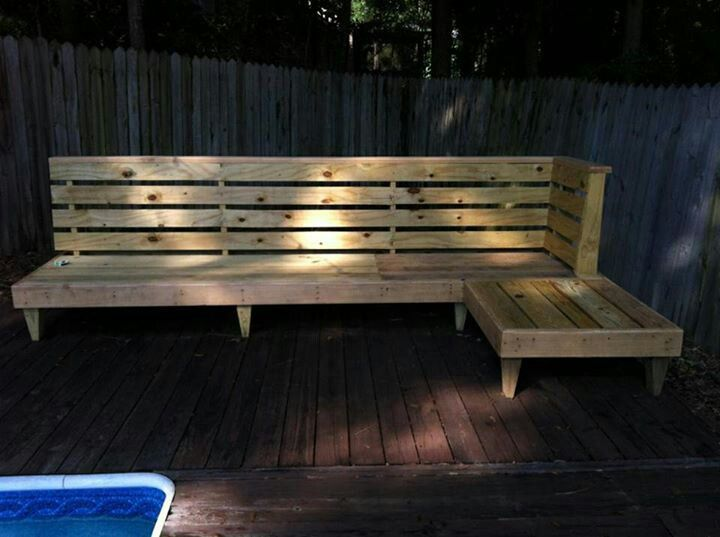 Diy Outdoor Bench Amp Seating Outdoor Pinterest