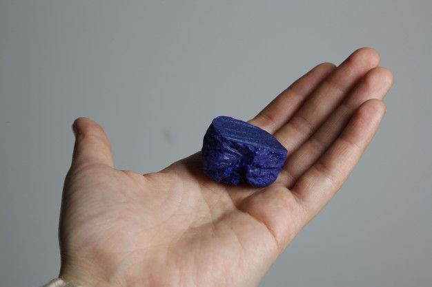 The Milk of Human Kindness - a polymer made of milk by Masami Charlotte Lavault | FUTU.PL