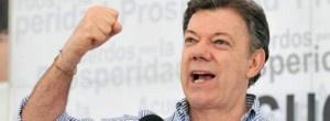 """El presidente colombiano, Juan Manuel Santos, ingresó hoy """"optimista"""" en el hospital universitario de Bogotá en el que será operado de un cáncer de próstata."""