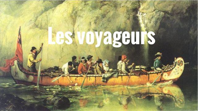 A short slideshow to introduce les voyageurs. #fsl #voyageurs