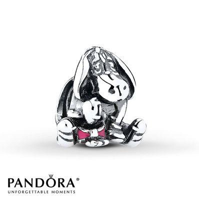 PANDORA Charm Disney, Eeyore  Sterling Silver