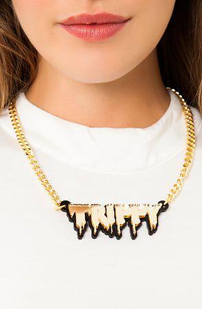 Melody Ehsani x Karmaloop- Trippy Necklace