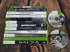 Lot of XBOX XBOX ONE & XBOX 360 Games Halo 4 Injustice Mortal Kombat UNTESTED