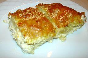 Μια πανεύκολη και απλή συνταγή, για αρχάριους, για να απολαύσετε μιαπεντανόστιμη τυρόπιτα με τυρί φέτα και γιαούρτι. Μια συνταγήγια μια υπέροχη τυρόπιτα