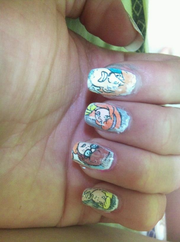 51 best scooby doo nail art images on pinterest scooby doo scooby doo nails prinsesfo Image collections