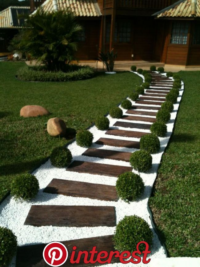20 Amazingly Gorgeous Garden Ideas To Complete Your Originality Do You Small Front Yard Landscaping Small Backyard Landscaping Front Yard Landscaping Design