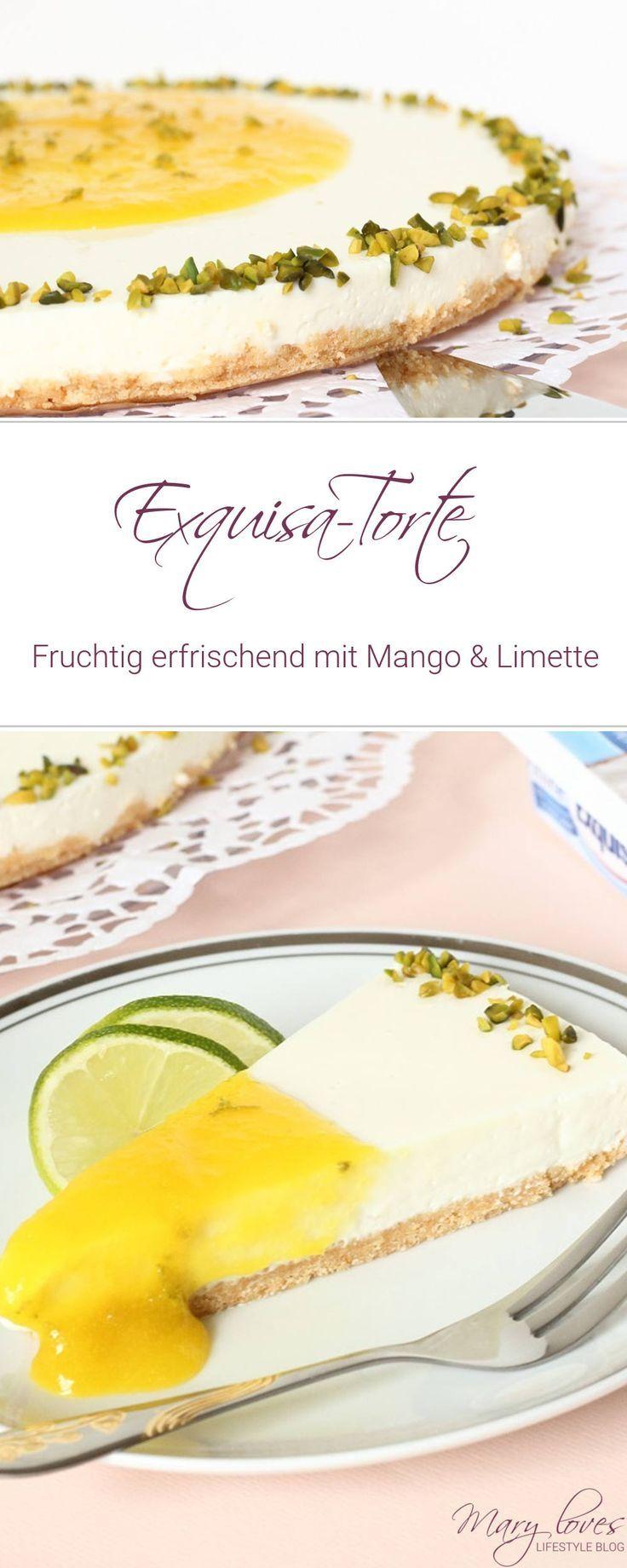Fruchtig erfrischende ExquisaTorte mit Mango und Limette