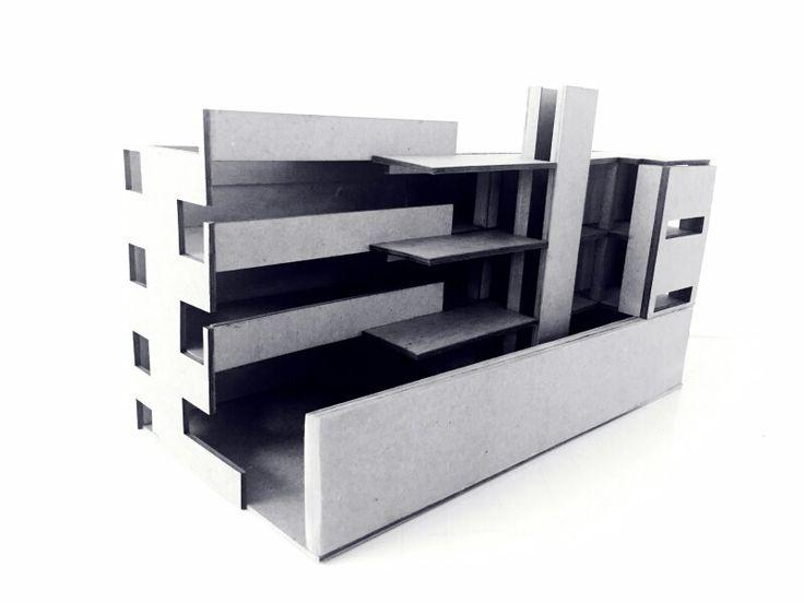 Recorte Estructural -  Espacial / Edificio Altamira_Rafael Iglesia