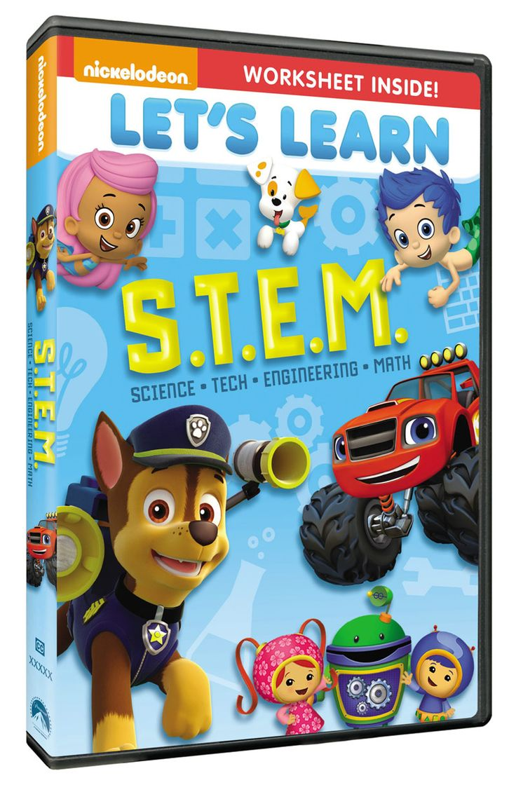 LET'SLEARN: S.T.E.M.    We love DVDs that…