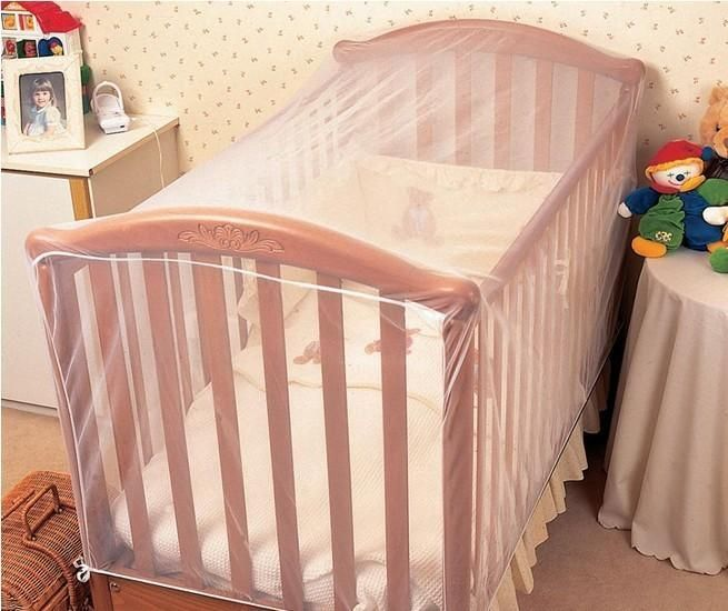 Baby Crib Cot Insect Mosquitoes Wasps Flies Net for Infant Bed folding Crib Netting
