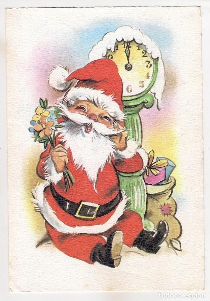-67,133 POSTAL DRAWING SANTA CLAUS, CHRISTMAS, WRITTEN EDITIONS Kartos - Photo 1