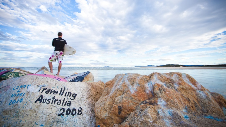 Surf the beaches in the Nambucca Valley. The choice is yours from Scotts Head in the south to Nambucca Heads to Valla in the north.