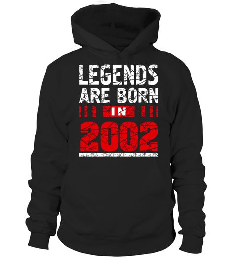 """CHECK OUT OTHER AWESOME DESIGNS HERE! Legends Born In 2002 T-Shirt is one of the 15 Years Old Birthday Gift Idea for Boys and Girls made in 2002 year. This tee shirt is really cute birthday gift tor a teen and we have same tshirt for different years of born so click on the brand name """"Birthday Teenager Gift Idea Shirts"""" Look for a cool vintage 2002 birth year t-shirt gift then this awesome 15 yrs old girl and boy shirt is for you. This tee truly is a Perfect 15th Birt..."""