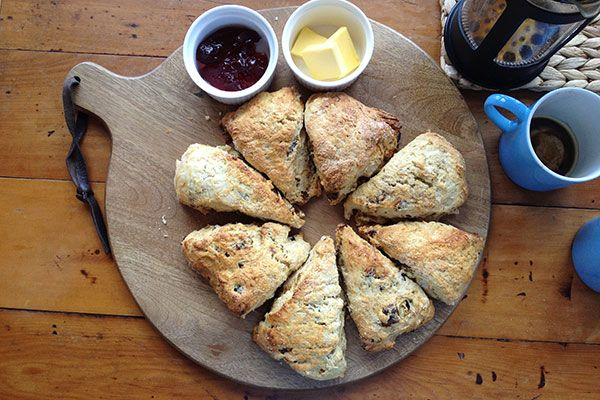 Lemonade Date Scones