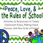 Kick off your year on a peaceful note with this unit of activities about rules, making good choices, and being a good friend!  This is perfect to i...
