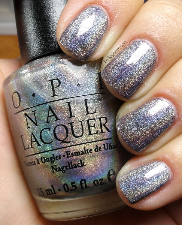 OPI Standing Room Only Silver ~ for my toes :)  $99 on eBay!! Are you kidding?!