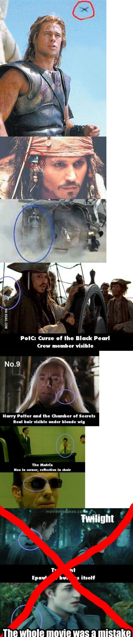 Just some movie mistakes...