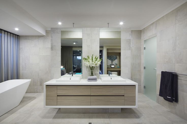 The ensuite in the master bedroom of the new for Interior design agency perth