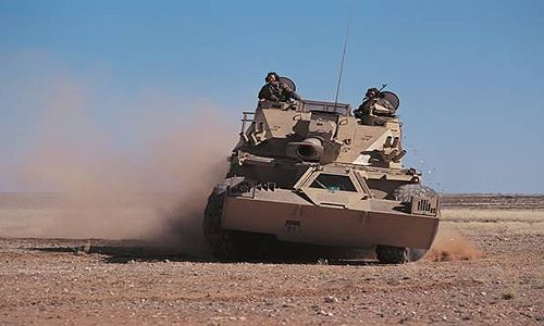 G6 self-propelled howitzer in action, operated by gunners of the South African Army. - Image - Army Technology