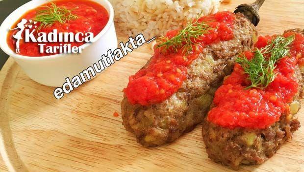 Köfte Mantolu Patlıcan Tarifi | Kadınca Tarifler | Kolay ve Nefis Yemek Tarifleri Sitesi - Oktay Usta