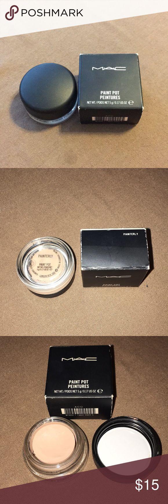 Mac Pro Longwear Paint Pot PAINTERLY Painted pots, Mac