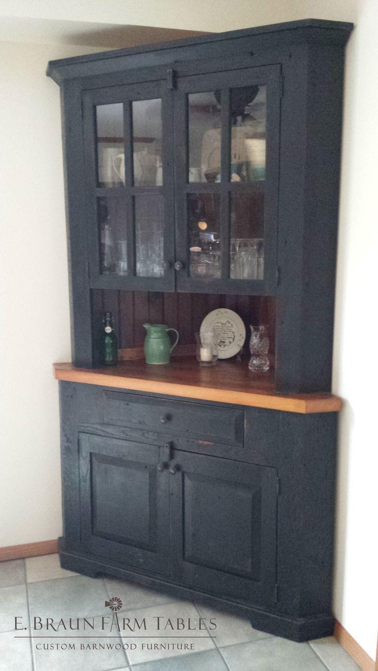 Best Ideas About Corner Hutch On Pinterest White Corner - Dining room corner hutch