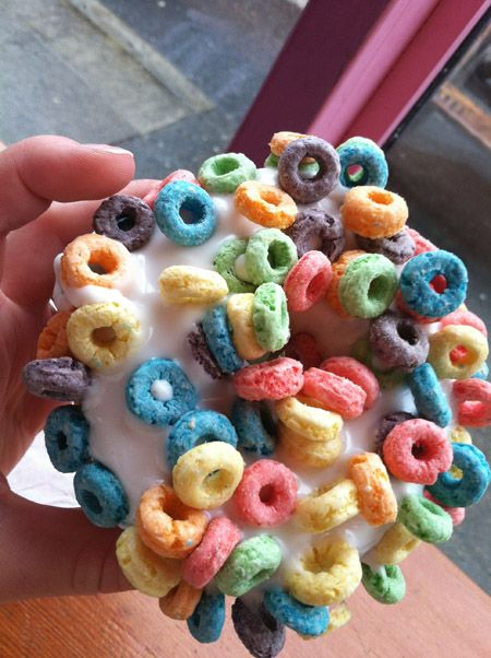 Voodoo Doghnuts!! If you ever come visit Portland, you at least have to stop by and check out the shops.
