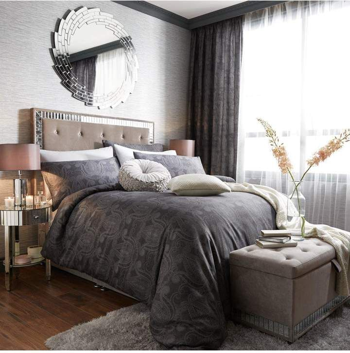 Arabella Duvet Cover And Pillowcase Set In Double King And Super King Sizes From The New And Exclusive Range Of Home 100 Cotton Duvet Covers Bedroom Design
