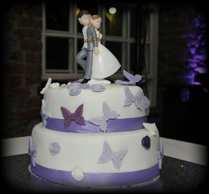 Hochzeitstorte für die Beste :-)