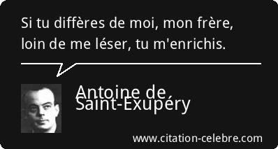 Citation Frere, Moi & Mon (Antoine de Saint-Exupéry - Phrase n°49845)