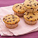 Muffin alla banana e gocce di cioccolato (muffin del buonumore)